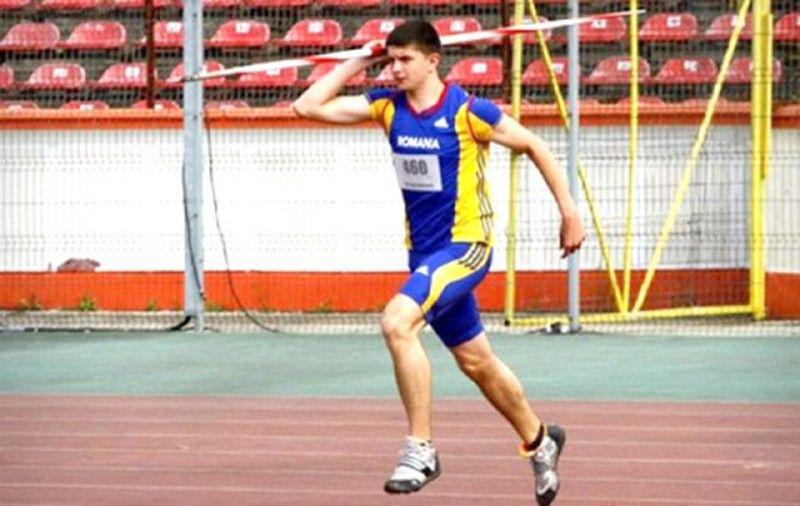 Atletul Raul Rusu a încheiat al şaselea la Balcanice