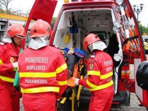 Un taximetrist arădean a ajuns la spital, în urma unui accident produs în municipiu