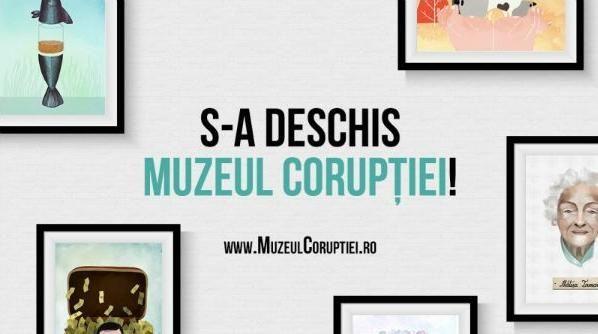 ȘPAGA, RIDICATĂ LA RANG DE ARTĂ. S-A DESCHIS MUZEUL CORUPȚIEI DIN ROMÂNIA