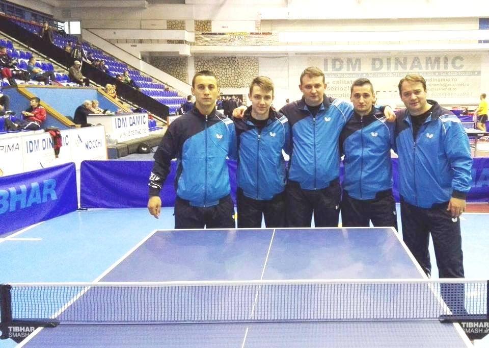 Tenis de masă: CSM Arad vrea şi cu băieţii în Superligă
