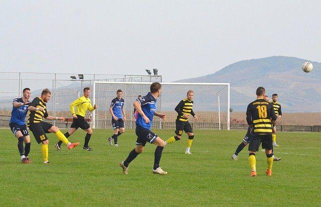 Naţional Sebiş – Şoimii Lipova 1-3, într-un meci amical