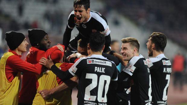 Dinamo, cu un pas în play-off. Rezultate şi clasament în Liga 1