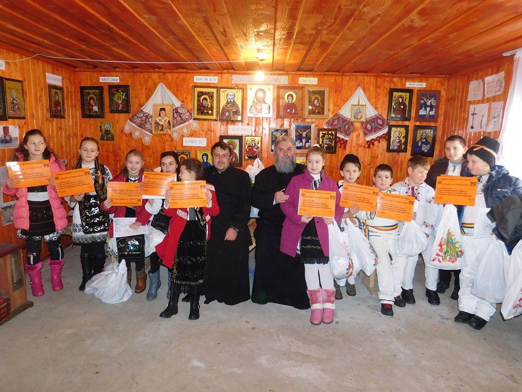 Ziua de 6 decembrie, pusă sub semnul bucuriei pentru copiii din Hălmagiu