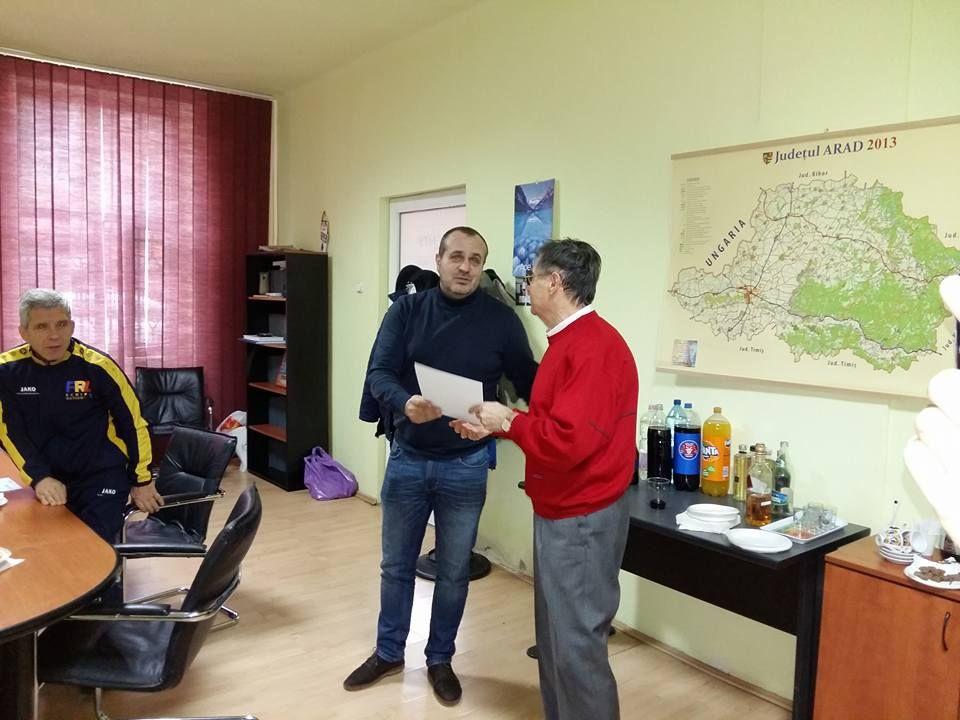 Campionul mondial Constantin Moldovean, apreciat de DJST Arad (FOTO)