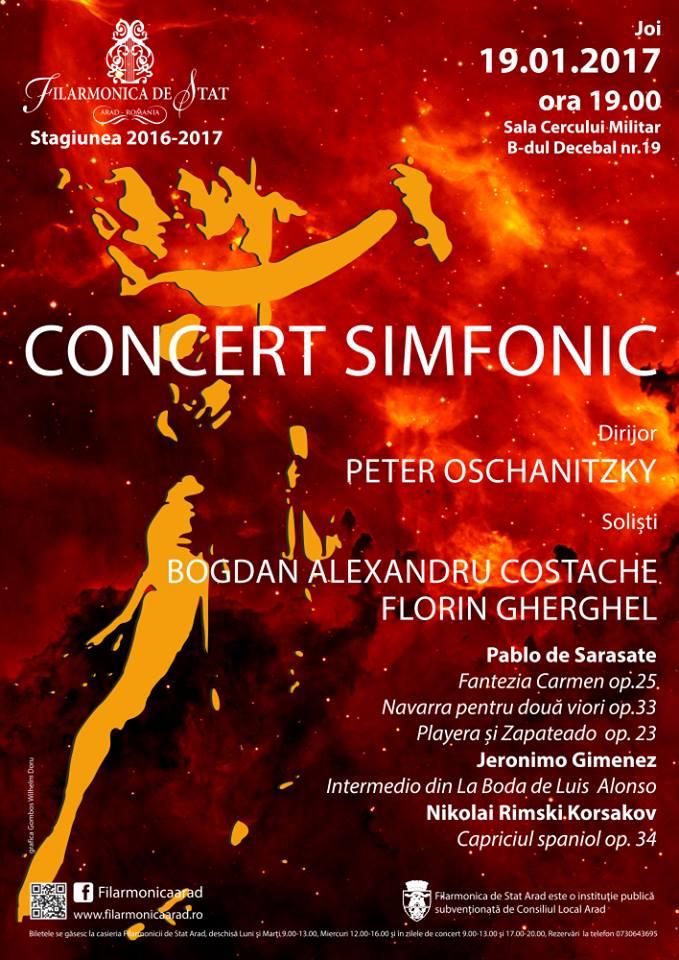 Soliști de seamă, într-un concert fascinant sub bagheta maestrului Peter Oschanitzky