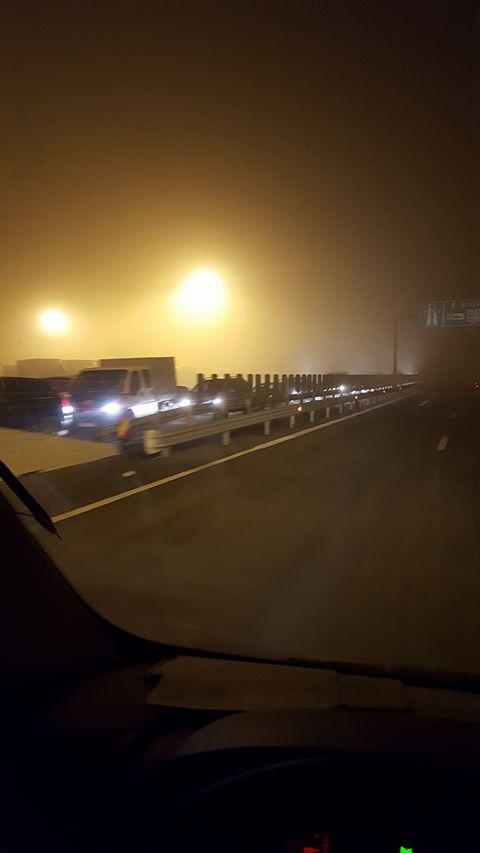 Accident cu trei maşini pe autostradă, la Nădlac
