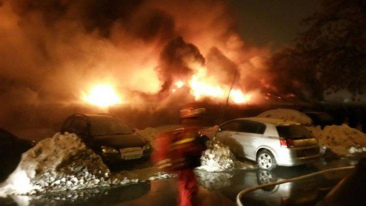 Incendiu în clubul Bamboo din Bucureşti. Zeci de răniţi!