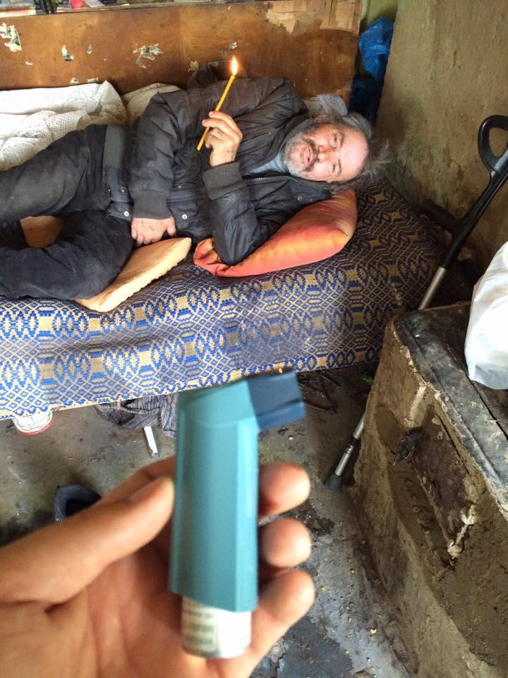 Mobilizarea de pe Facebook face minuni! Bătrân de 73 de ani, salvat din sărăcie