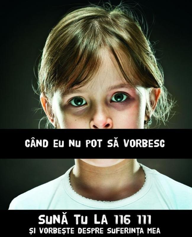 Numărul cazurilor de abuz înregistrate la Telefonul Copilului, în creștere cu aproape 50%