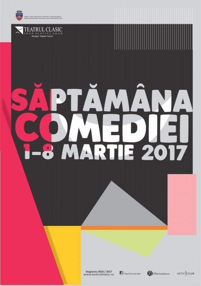 """,,Săptămâna comediei"""", la Teatrul ,,Ioan Slavici"""" Arad"""
