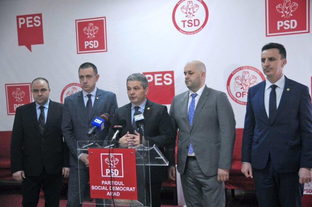 PSD: Ministrul Sănătăţii privește cu maximă seriozitate problemele sistemului de sănătate din Arad