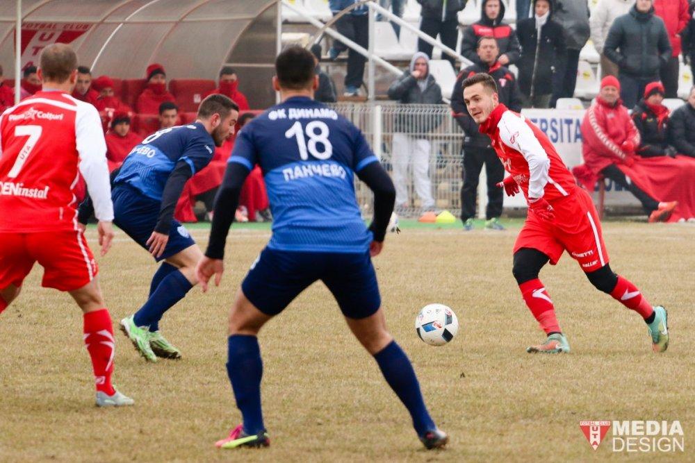 UTA – Dinamo Pancevo 3-0, în ultimul amical al iernii