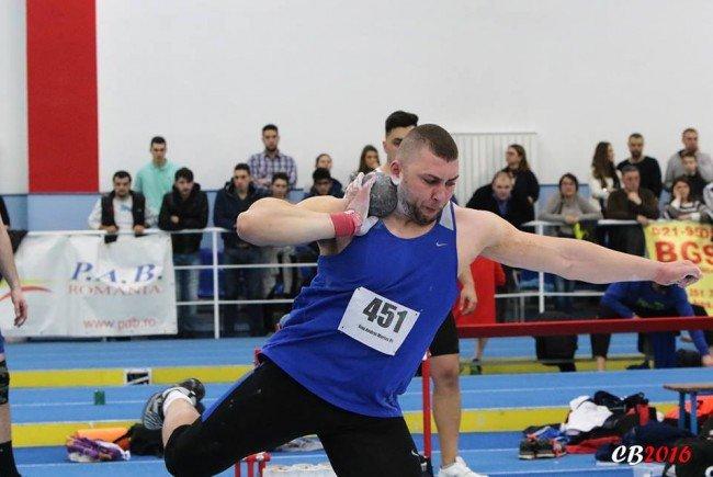 Andrei Gag, un nou titlu de campion naţional în sală