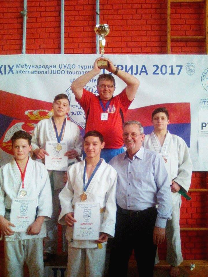 Medalii arădene pe tatami, la un concurs în Serbia