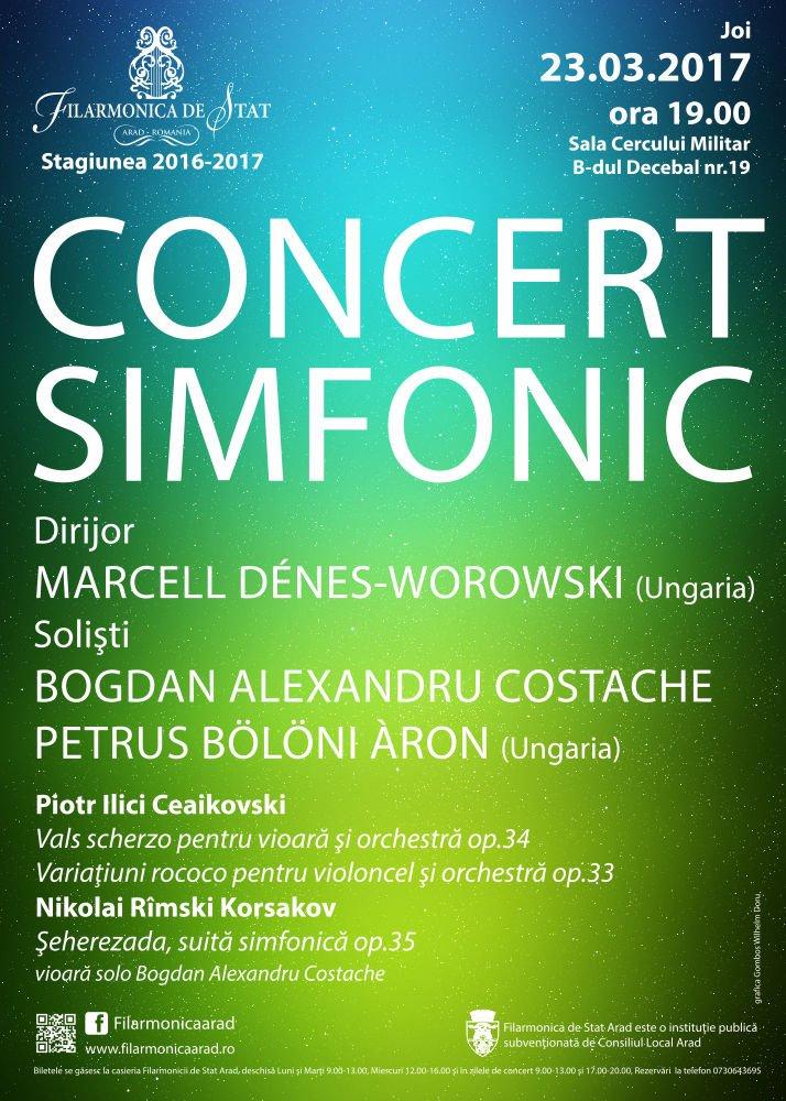 Muzică rusă și doi tineri soliști de excepție, la filamonica arădeană