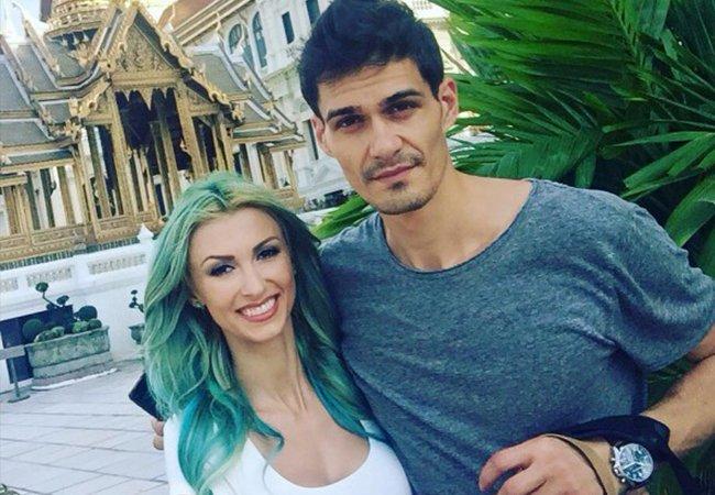 Andreea Bălan și George Burcea s-au căsătorit