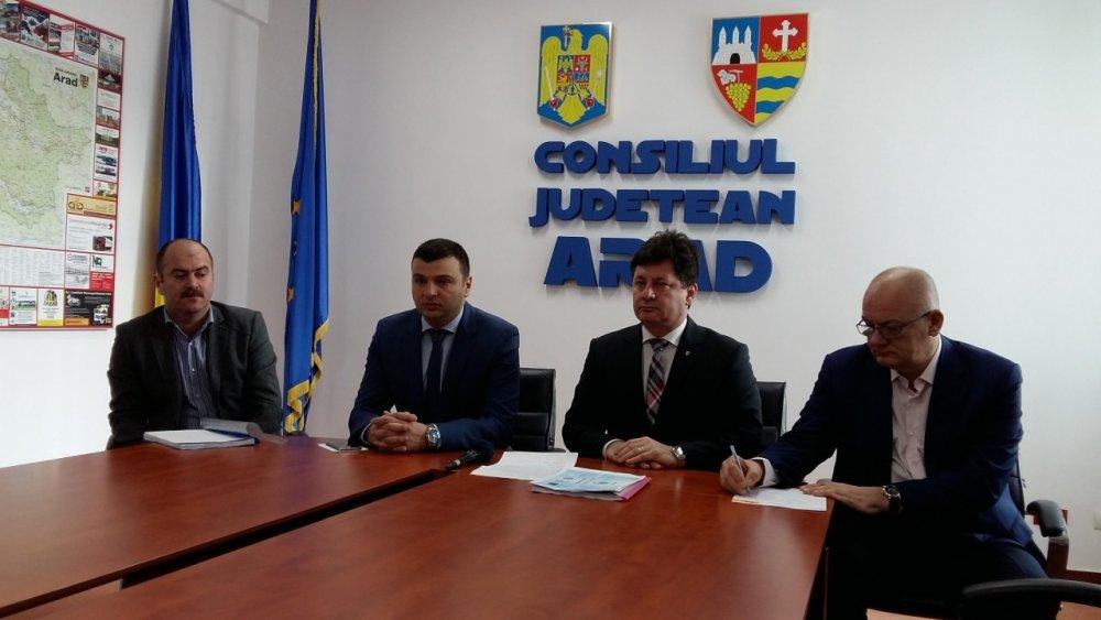 123,2 milioane EURO pentru extinderea şi modernizarea infrastructurii de apă din județul Arad
