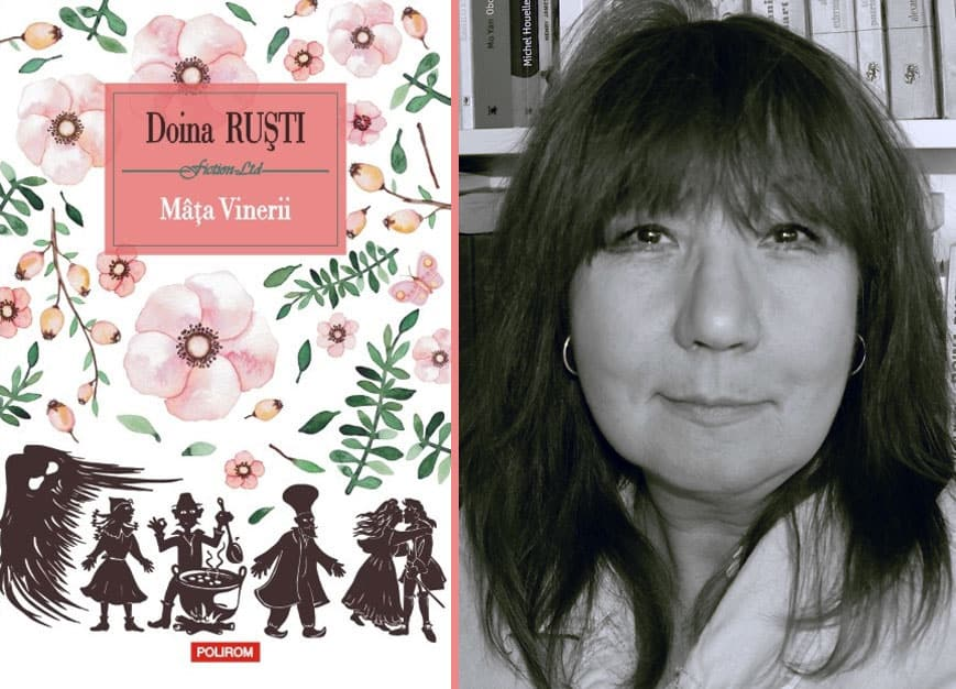 """""""Mâţa Vinerii"""", cel mai recent roman al scriitoarei Doina Ruști va fi lansat la Arad"""