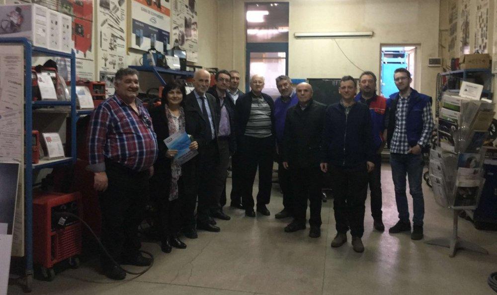 Școala de Sudură Arad a participat la o întâlnire a firmelor de profil, la Cluj Napoca