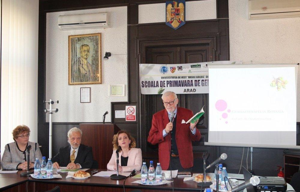 """""""Școala de primăvară de Gemmaeterapie"""", la UVVG Arad"""
