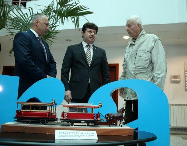 Expoziţia de machete despre trecutul fabricii de vagoane, la CJA