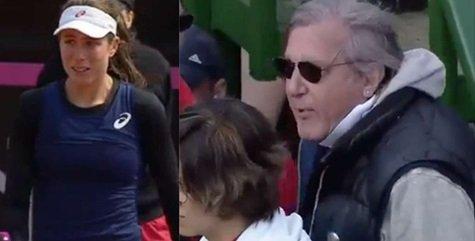 Scandal în Fed Cup: Năstase evacuat! Konta, în lacrimi la Mamaia