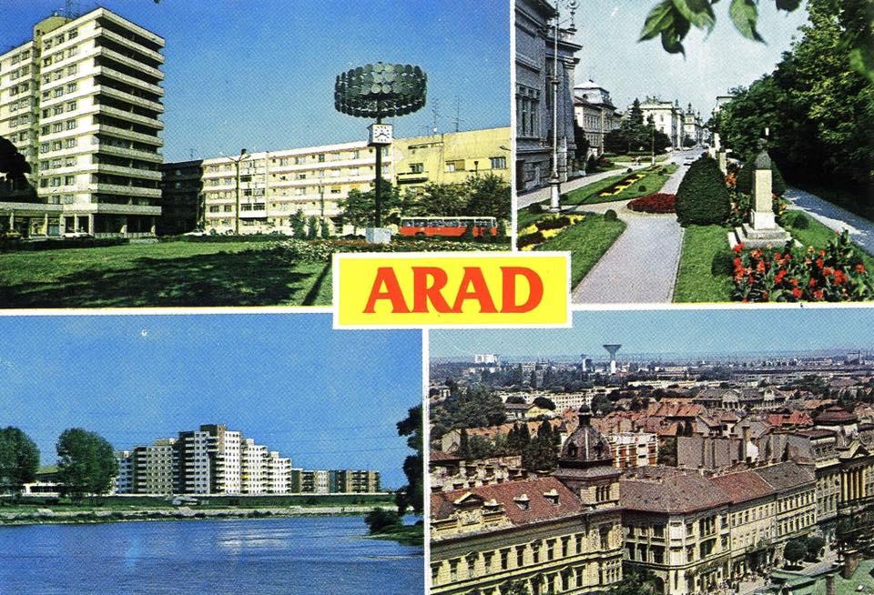 Aradul din perioada administraţiei Falcă, mult sub cel de pe vremea Comunismului (FOTO)