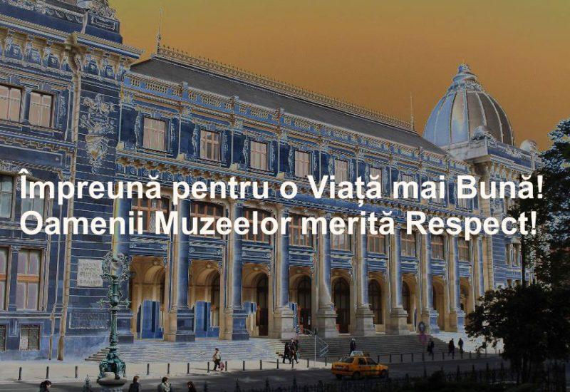 Angajații muzeelor din toată țara vor protesta mâine față de legea salarizării unitare