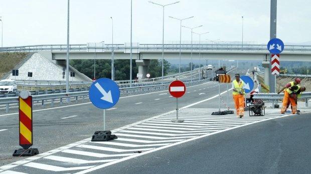 Lucrări pe autostrada Arad – Timișoara. Se circulă pe o singură bandă