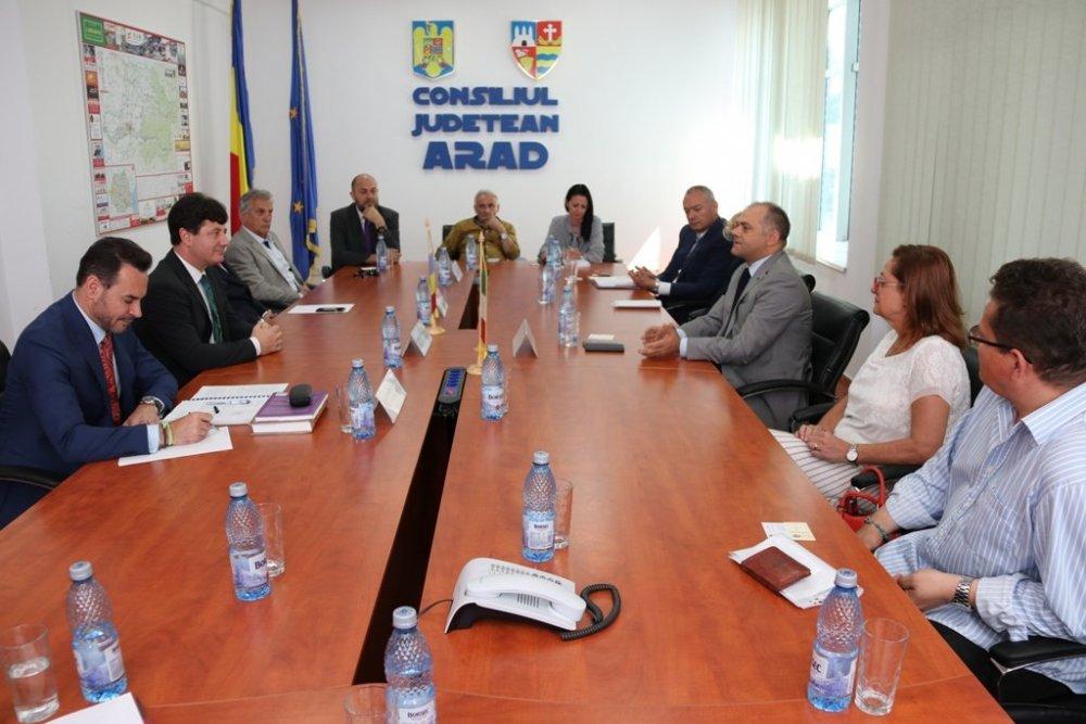 Conducerea Aradului s-a consultat cu investitorii italieni