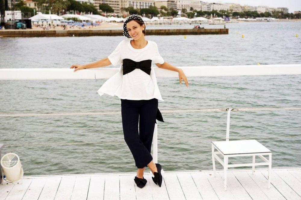 Dana Rogoz, la Festivalul de film de la Cannes
