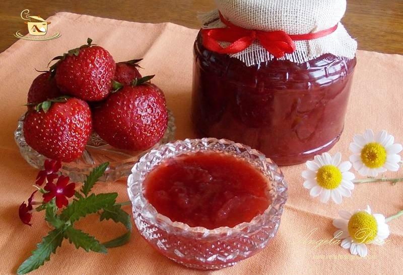 Dulceață de căpșuni după rețeta bunicii