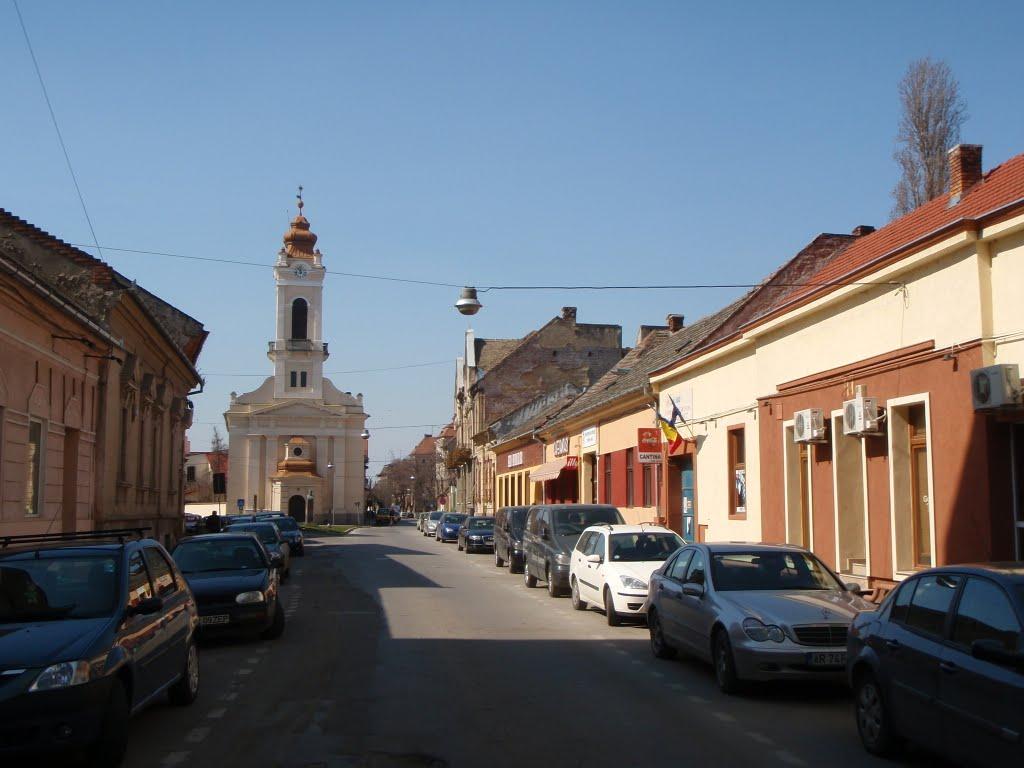 Lucrări de reparații pe strada Mihai Eminescu, din Arad