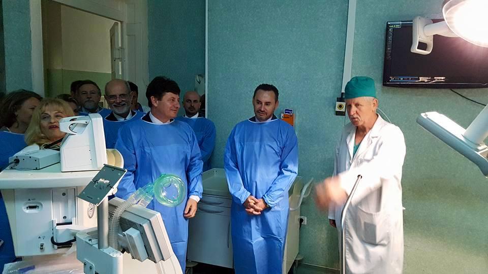 Cionca a invitat o echipă de medici chinezi la Arad