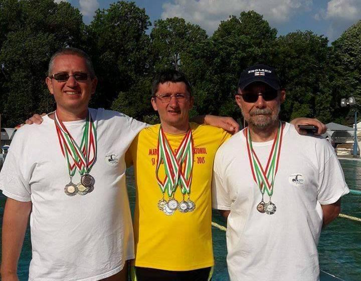Înotătorii masters ai CSM-ului, medaliaţi în Ungaria