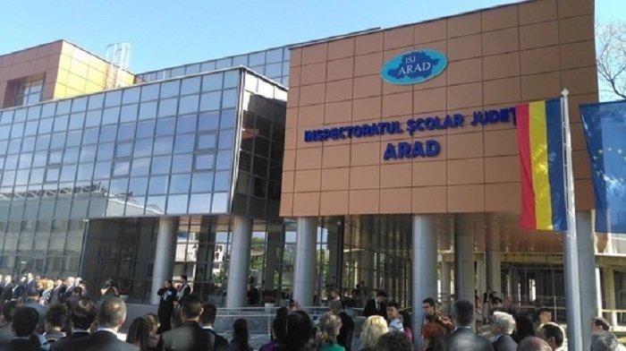 Șeful Inspectoratului Școlar Județean Arad a fost demis