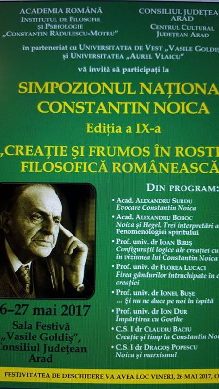 Academia Română vine la Arad