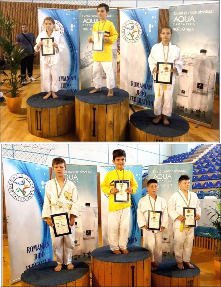 Micii judoka au încheiat în forţă anul competiţional