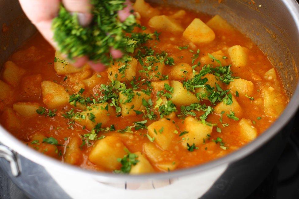 Rețeta zilei: Mâncare de cartofi, de post