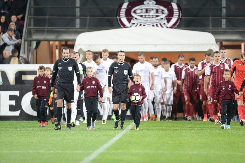 CFR şi FCSB îşi dispută, în Gruia, primul loc al Ligii 1