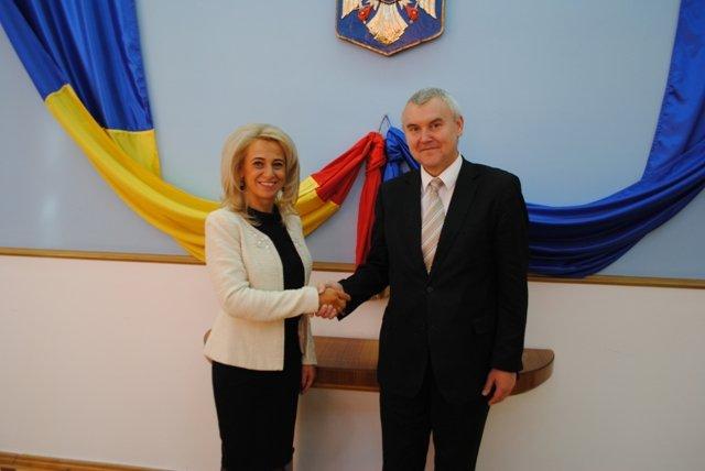 Prefectul Florentina Horgea s-a întâlnit cu Ambasadorul Republicii Belarus