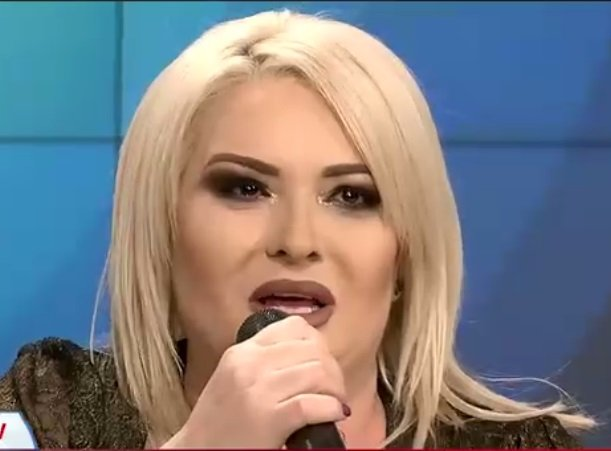 Viorica de la Clejani, în lacrimi la tv