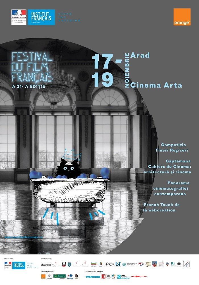 Festivalul Filmului Francez, la Arad. Programul complet