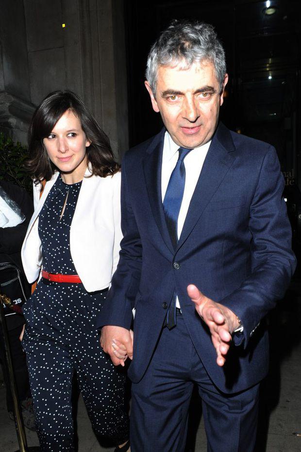 Rowan Atkinson va deveni tată pentru a treia oară, la 62 de ani