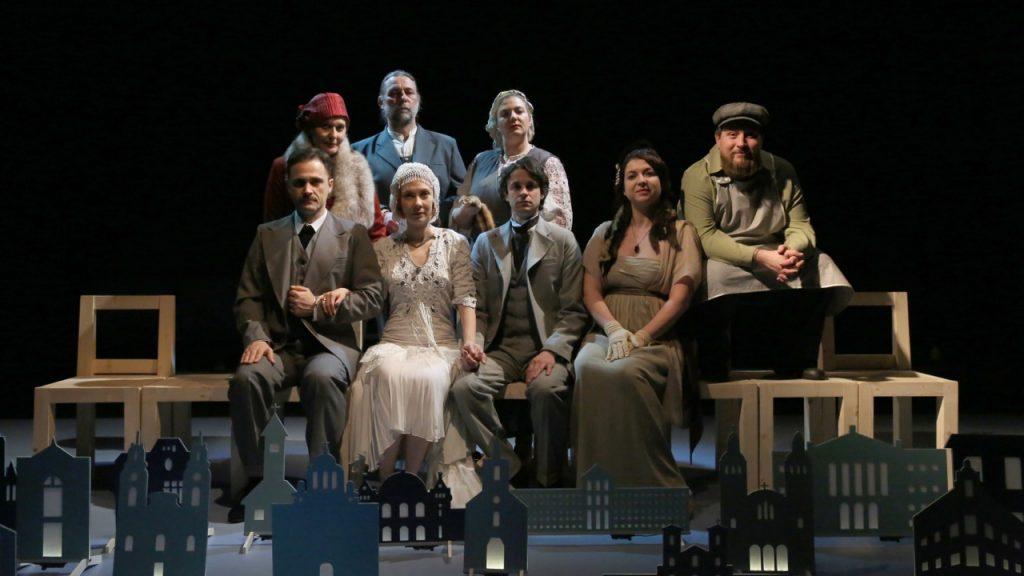 """""""Orașul nostru""""– istorii de altădată spuse pe scena Teatrului Clasic """"Ioan Slavici"""""""