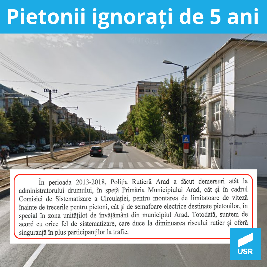 Primăria Arad refuză montarea unor semafoare inteligente în preajma școlilor