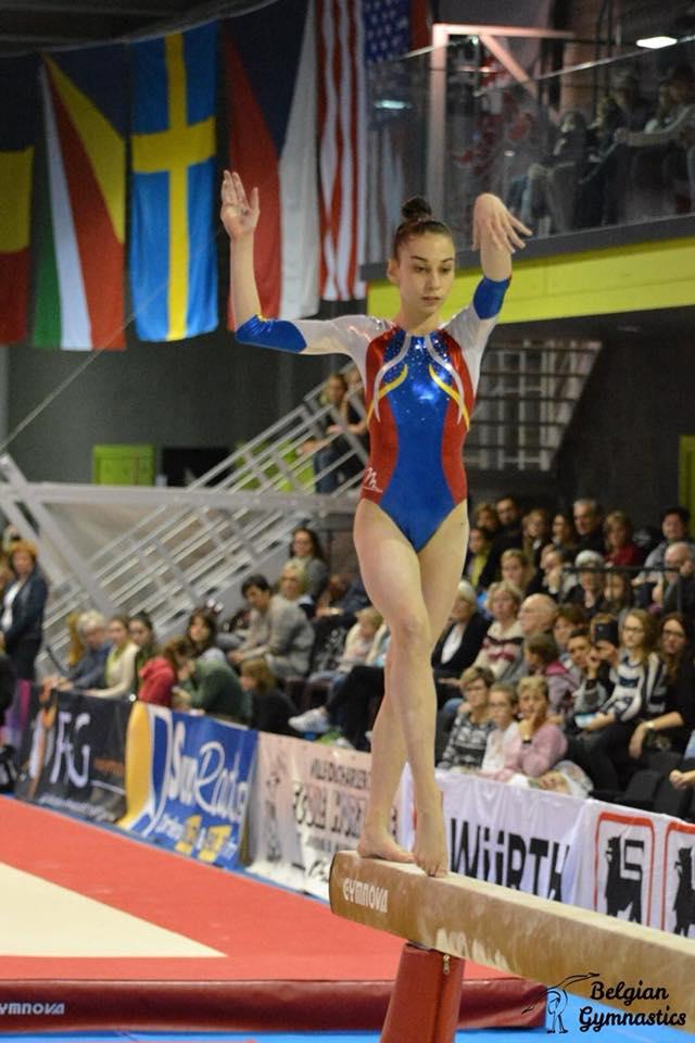 Gimnasta Iulia Berar a cucerit argintul la Jesolo Trophy
