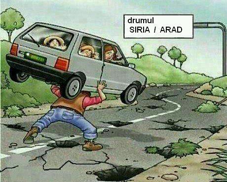 Primarii din județ au ordin să repare drumul Arad – Seleuș