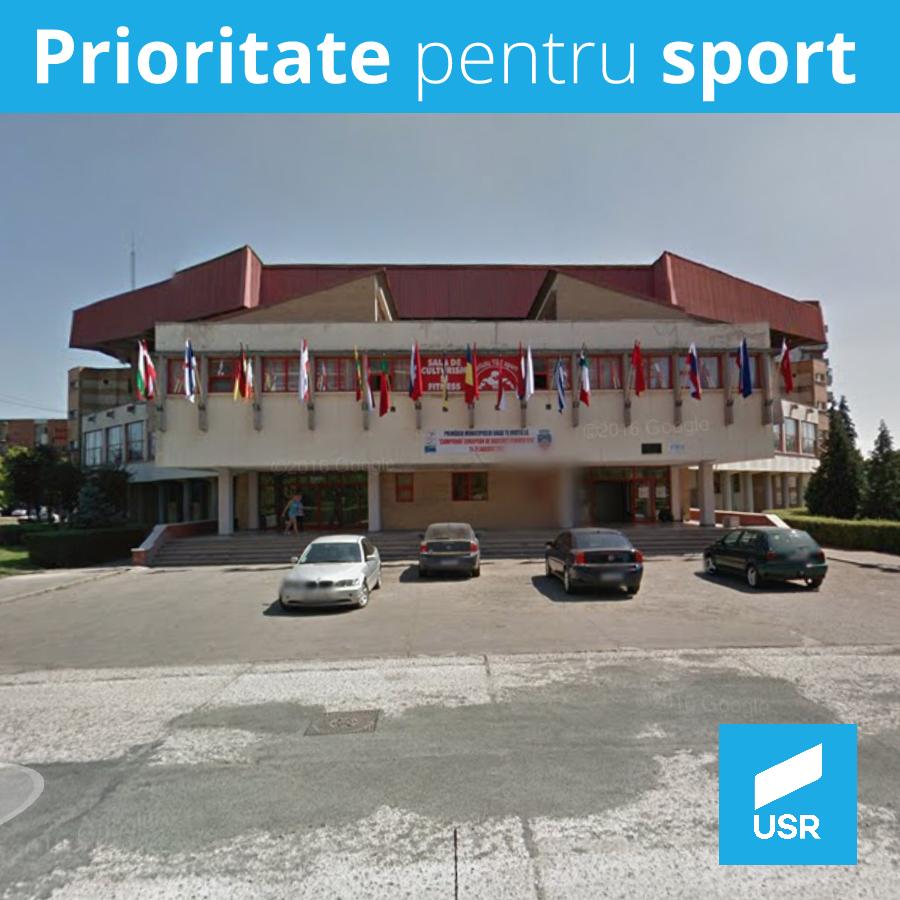 Deputatul Sergiu Vlad cere prioritate pentru sportul de performanță