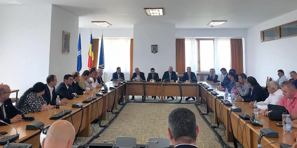 Deputatul Dorel Căprar a primit Placheta de Onoare a Colegiului Naţional de Afaceri Interne